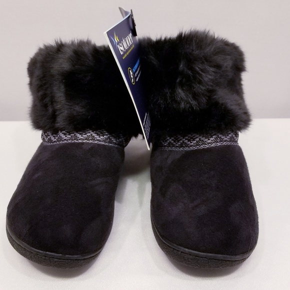 47a986d66 ISOTONER Microsuede Basil Boot Slippers. NWT. Isotoner.  M_5ca57f037f617f1c1251b629. M_5ca57f11b3e9171c38cbcd66.  M_5ca57f27adb58d34643f2d32